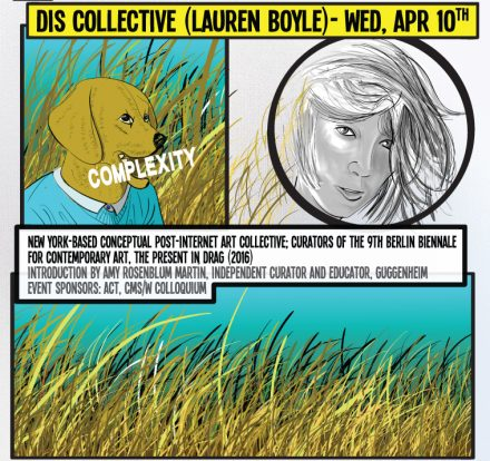 DIS Collective (Lauren Boyle) – Poster and Illustration by Mauricio Cordero.