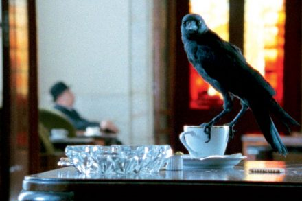 Still from LOOKING for ALFRED, 2005, by Johan Grimonprez Courtesy of Zapomatik / Film & Video Umbrella
