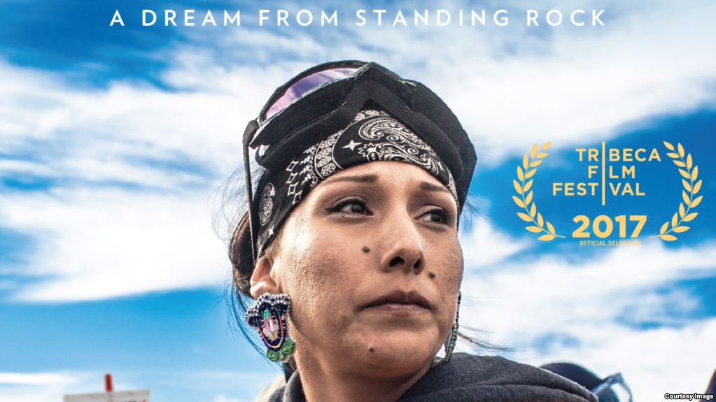 Awake: A Dream from Standing Rock, film poster.