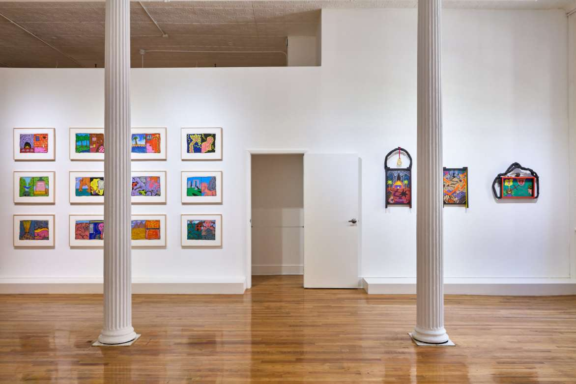 Renée Green, Excerpts A.1, Installation view, The Upstairs, Bortolami Gallery, New York, NY, 2021